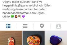Stone painting / Follow danehande on instagram