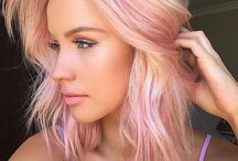 Pastel Hair / Colorful, fun, statement hair!