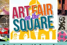 Art Fair on the Square 2015 / Mark you calendars for a day of fine arts and entertainment at Art Fair on the Square in downtown Noblesville, Indiana. Something for everyone: kids' activities, food, live music, face painting, caricatures, and more! Enjoy charming historic downtown with juried artists, all painting mediums, sculpture, pottery, jewelry, more. New this year will be a Taster's Garden featuring local wine and food samples (tickets available for purchase). Brought to you by HCAA, NCAC, & NPA.