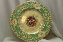 Royal Worcester Handpainted China