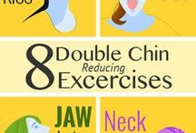 double chin exercise