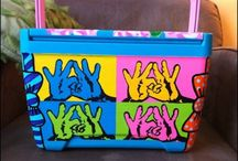 Stay Cool  / Sharpie+ Coolers= Summer in style