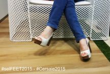 #Selfeet #CaesarCersaie / Create your own #selfeet at #Cersaie2015 and create images of your feet or shoes! Feet and / or shoes must be placed on a tiled floor Caesar and shared on Instagram with hashtags #Selfeet #Cersaie2015 and #CaesarCersaie.