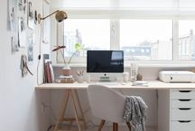 Home Office / Clean, calming work space