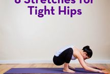 Stretches and cool downs