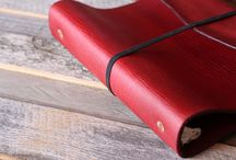 Leather Quill Binders | Ring Bound Planners / 3 ring and 6 ring handmade leather binders
