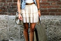 Casual Spring/Summer outfit combos / by Laura Kassahn