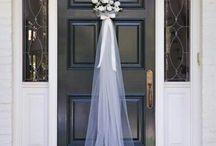 Bruiloftsideeën deur