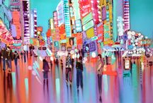 City Life / The speed, vibrancy and edgy buzz that emanates from city life