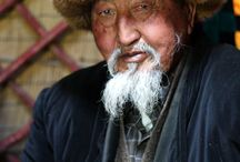 Faces from Central Asia / Faces of 40 kyrgyz tribes and 80 ethnic groups of Central Asia