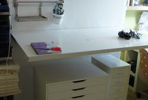 Sewing Rooms & Spaces - Organisation & Storage Solutions / by Claire Sew-Incidentally
