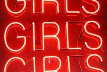 Cosas de chicas / Bellas palabras femeninas.