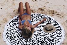 Beach Roundies tapestry
