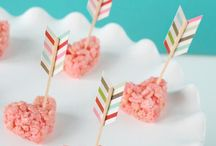 Valentine's snacks, cute & delicious!