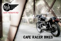 Cafe Racer Bikes / @caferacerbikes;   http://www.mjhperformancebikes.com/es/transformacion-de-moto-triumph-bonneville-t120-1974/