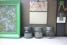 Decorate work desk / When you want your life to be beautiful inside and outside home