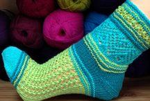 My socks - knitting pattern / Gestrickte Socken