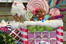 Christmas candy land ideas