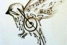 music note art
