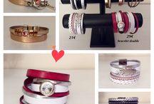 Mes cuirs / MES NOUVELLES CREATIONS : bracelets en cuir   À vendre ou à commander selon vos couleurs  Mail : jeaninelucci@hotmail.be  Ou sur Messenger   Ils sont exposés au salon de coiffure Jeanine Lucci   https://www.facebook.com/Coiffure-Jeanine-Lucci-283650945148243/