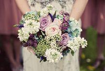 Bryllup - farger og blomster
