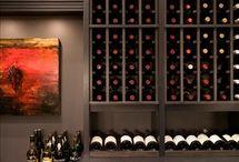 Rafturi depozitare vin