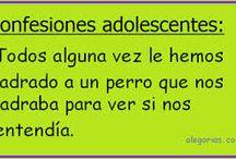 Confesiones Adolescentes / GRANDES CONFESIONES