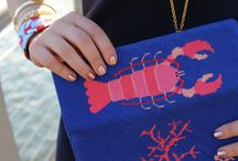 Clutches and Belts / Accessories from the York Design Co. collection