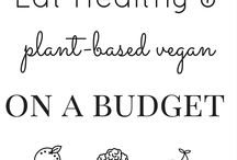 "Vegan food / ""Each patient carries his own doctor inside him."""