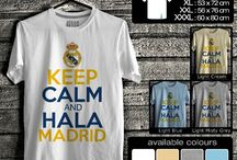 Kaos real Madrid | Real Madrid T-Shirt