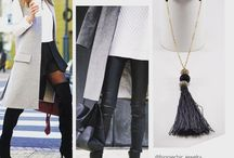 Street Style Accessories / In style hand-made jewellery for all day, and how to wear them.