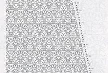 схемы по вязанию платьев крючком