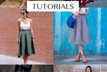 Midi skirt obsession / Midi skirt, retro, fashion