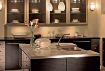 Gourmet Kitchen Selections / Sample ideas for your ideal gourmet kitchen - Design services available at Stagetecture.com
