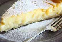 Zoet gebak en taart