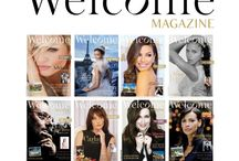 Welcome Magazine Paris /  Welcome Magazine est une revue de luxe, distribuée en Côte d'Or, à Lyon, sur la Côte d'Azur et prochainement en Suisse, en Belgique et au Maroc. Le DG de celle-ci a confié à C2LAURE le développement et le lancement de l'édition parisienne prévue pour 2015.