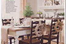 Farmhouse Tables/Style / by Lynn Garcia