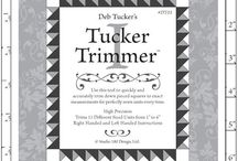 Quilting: Tucker Trimmer