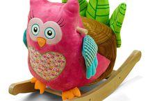Owl rocker
