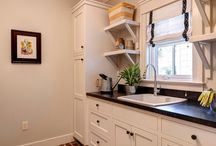 Our Laundry Rooms / Custom laundry rooms by Farinelli Construction, Inc. / by Farinelli Construction & Design Studio