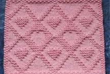 Heart Knitting Patterns Baby Blankets