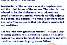 Thought of the Day / A person is what he thinks. Thoughts are extremely powerful. This decision-making capability lies with the brain. Motivations are generated in the brain.
