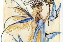 wróżka i motyle