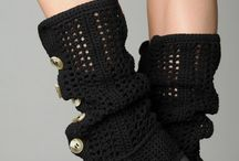 I love to crochet booties & shoes etc !!!! / How fashionable...for babies, kids and adults / by MaryAnne M