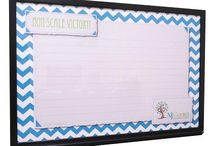 Chevron Whiteboard Designs / Tailor Made Whiteboards' Chevron Dry Erase Board designs will blend seamlessly with a variety of home decor. Don't like the colors shown? We can customize the color to be anything you desire!