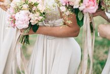 Wedding Bouquet Wraps / The flowers in your bouquet are important. They should be a reflection of your own artistic tastes and loves. But you don't want to forget the wrapping, aka ribbons. Here are some enchanting styles to get you inspired for your wedding bouquet designs, ribbons and all.  / by Bride & Blossom