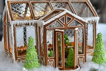 wow!!! gingerbread houses