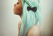 color full hair . monse