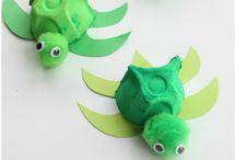 Egg Carton Creatures