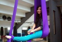 Aerial Silks / Cause flying makes me feel alive <3
